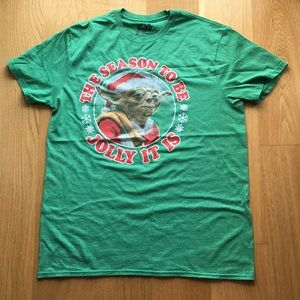 Star Wars Holiday Tee. Size M